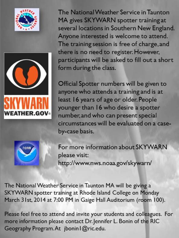 SKYWARN Flyer