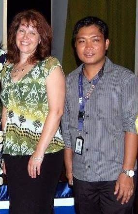 Sandra Makielski and Rufo de Leon